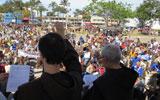 Romaria reúne 1.500 cavaleiros na Prainha
