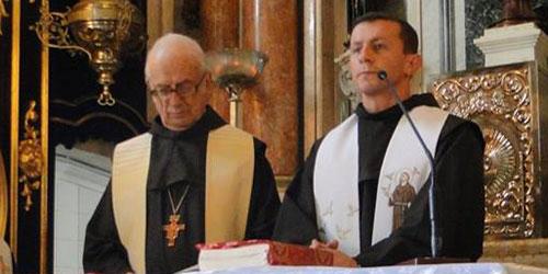 Frei Pedro Engel celebra 60 anos de vida religiosa