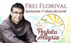 Frei Florival abre turnê no Shopping de Vila Velha