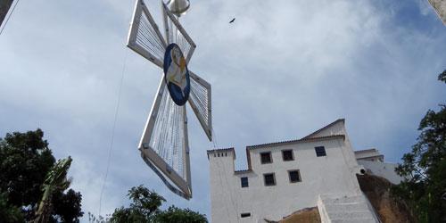 'Terço da Misericórdia' já está entre as palmeiras